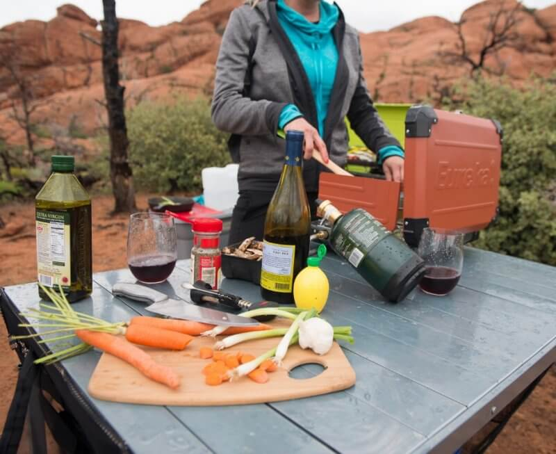 food packing list for camping