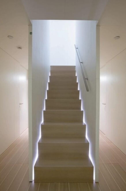 outdoor staircase lighting ideas