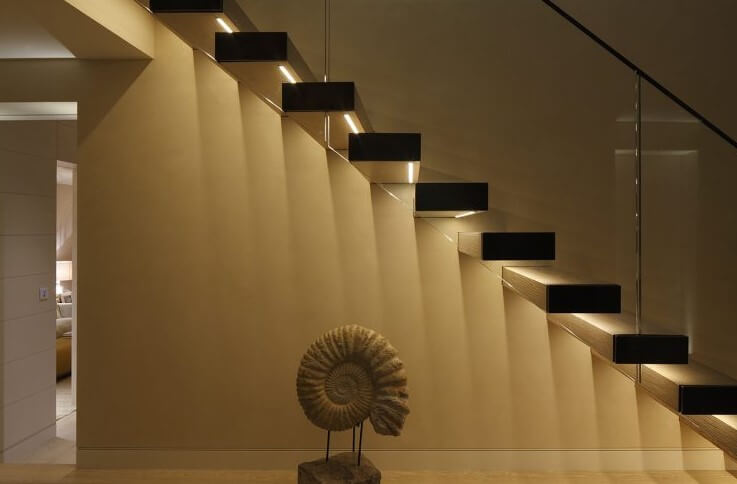 staircase wall lighting ideas