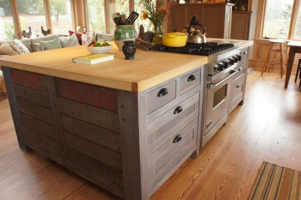 small extendable kitchen island