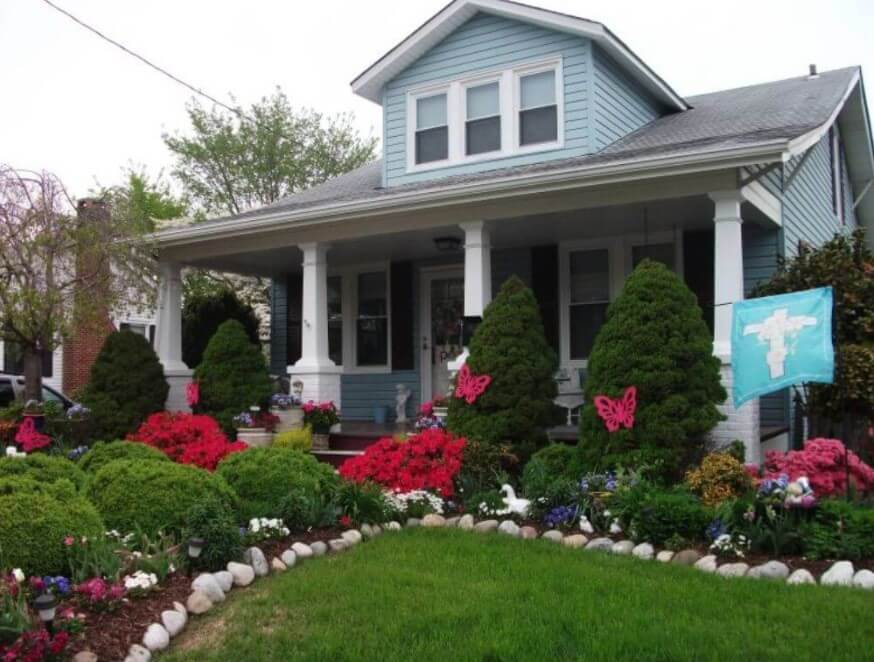 Cottage Landscaping Ideas For Front Yard